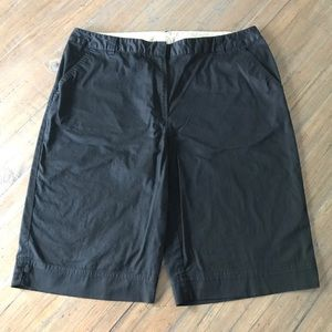 Kim Rogers size 18 solid black shorts